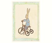 Kort - Maileg Rabbit boy on bike