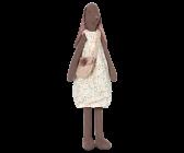 Maileg, Medium Bunny Jenny brown