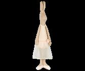 Maileg, Mega Maxi Rabbit Ballerina rose
