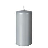 Blockljus, light gråsilver - PEARL 70x150 mm