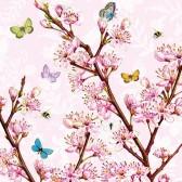 Ambiente Servetter - Blossom Rose