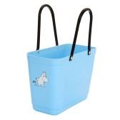 ..Hinza väska - Ljusblå Mumintrollet (Green Plastic)