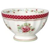 Greengate French Bowl Medium, Mary Raspberry (Förhandsbokning)