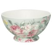 Greengate French Bowl XL, Josephine Pale Mint