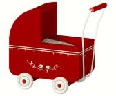 .Maileg, Micro röd barnvagn