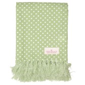 GreenGate Bordsduk, Spot Pale Green 130x170cm