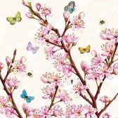 Ambiente Servetter - Blossom Cream