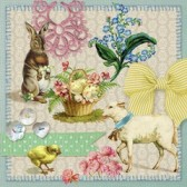 Ambiente Servetter - Easter collage
