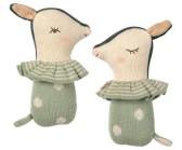 ..Maileg, Bambi skallra - dusty mint - Beställningsvara