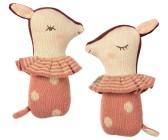 ..Maileg, Bambi skallra - rosa - Beställningsvara