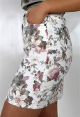Miranda skirt Rose/Salvia/Creme