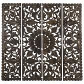 Carve Tempeltavla , Svart/Guld XXL (180x180 cm) - Beställningsvara