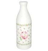 GreenGate Mjölkflaska - Lily petit white