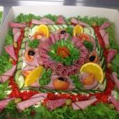 Salami& osttårta