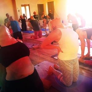 Yoga för nybörjare, nivå 1 i Halmstad på Yogainstitutet i Halmstad