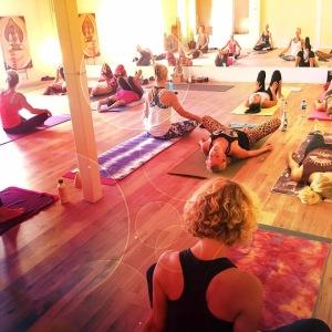Nybörjarkurs nivå i i Halmstad på Yogainstitutet i Halmstad