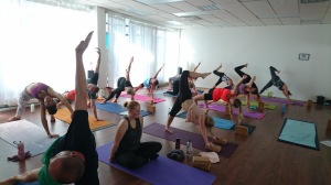 Nybörjarkurs i yoga på Yogainstitutet i Halmstad