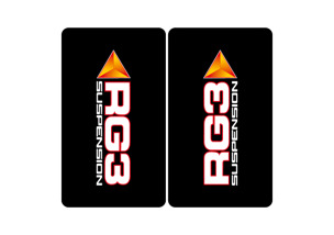 RG3 Fork Big Bike Sticker Kit -