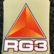 RG3 Stötdämpardekal Stor