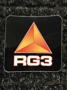RG3 Stötdämpardekal Svart