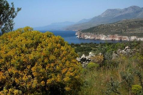 Vy från södra Peloponnesos