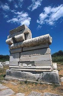 Rester från Hera-templet