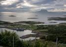 Vy från Dönnes Fjellstue