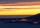 Solnedgång över Dönna