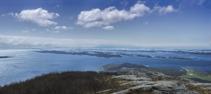 Några av Helgelandskustens 1000-tals öar
