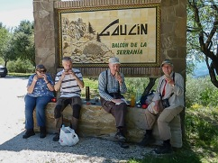 Lunch break at Gaucin