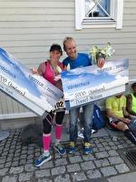 Helene Pratt vinner Jättelångt ultramarathon, 70 km 2017