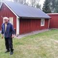 Bernt Wärn,        en av våra trogna entusiaster vid renoveringen