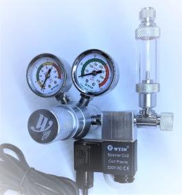 CO2 regulator, ställbart tryck - CO2 regulator, ställbart tryck