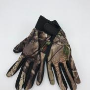Handske med silikongrepp