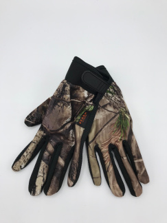 Handske med silikongrepp - Handske med silikongrepp M