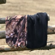 Multiscarf med fleece Svart/Camo