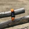 Överlevnadsarmband Svart - Överlevnadsarmband Orange