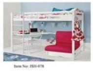 Loft bed 90x190cm