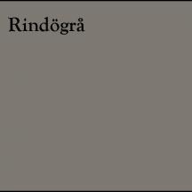 rindögrå