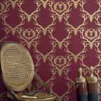 Barneby Gates Claret - Gold - Set Shot