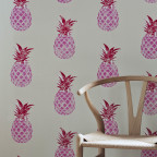 Barneby Gates - Pineapple - Red_Pink - Detail