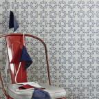 Barneby Gates - Anchor Tile - Red White Blue - Detail 1
