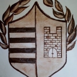 logos on wall