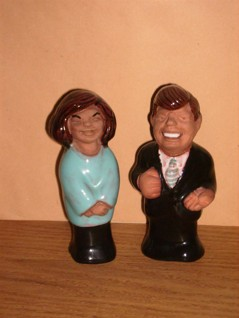 JF Kennedy och Jacqueline Kennedy
