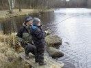 120331 Pontus Pramhed 6 år med fisk