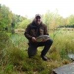 Andreas 2,6 kg personbästa på fluga