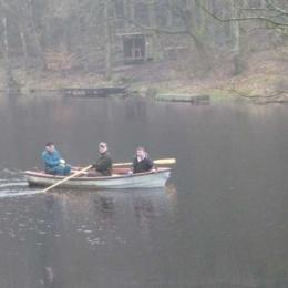 En skön båttur på Tollerupsjön