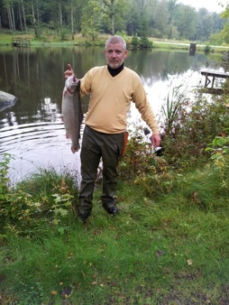 Ronnie Andersson med 4,3 kg regnbåge