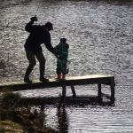 Även våra mindre fiskare fick hjälpa till