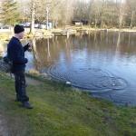 Mattias med en Regnbåge på kroken